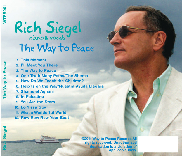 Rich Siegel Album The Way to Peace song list